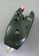 GFv BITE ALARM *RED LED* VOL,TONE + 2.5mm JACK OUT. USED CARP FISHING BUZZER 1-2