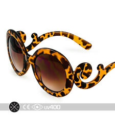 Tortoise Children Baroque Swirl Stylish Child Kids Sunglasses Free Case K005