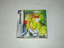 Earthworm Jim Nintendo Game Boy Advance Unopened Sealed FREE SHIPPING