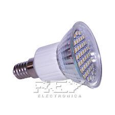 Bombilla Foco LED E14 Bajo Consumo 3200k 48 LED 3528 SMD d83