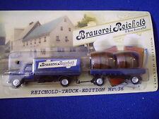 Modèle maquette de camion Deutz Sirius Magirus Saturne Brasserie Rahmani