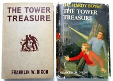Hardy Boys #1 THE TOWER TREASURE 1959 in dj