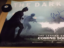 The Dark Knight Rises signed autographed 18x38 movie poster by Christian Bale