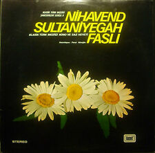 LP Nihavend sultaniyegah Fasli - Klasik Türk muezigi Koro VE Saz Heyeti