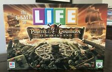 The Game of Life Disney Pirates of Caribbean At World's End Board Game complete.
