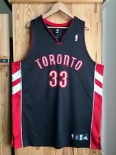 AUTHENTIC Adidas Toronto Raptors Moon Jersey Black CARTER McGRADY DeRozan NBA