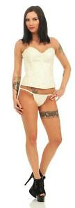 Ladies Corset For Lacing Back, G-String Size S M L XL