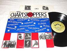 """20 Chart Stoppers, Vol. 1"" 1970's Rock/Pop/R&B/Soul Lp, Vg+, Various Artists"