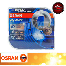 NUOVE LAMPADE OSRAM H4 COOL BLUE BOOST 5000K 12V 100/90W 62193CBBDUO COPPIA