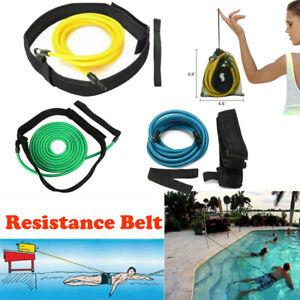 Swim Trainer Strength Belt Neoprene Swimming Training Harness Resistance 400cm