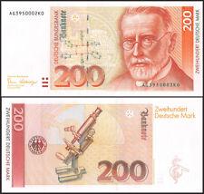 Germany 200 Deutsche Mark, 1989, P-42, UNC