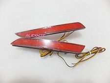 Car LED Brake Lights LED Red Rear Bumper Fog Light for Honda Fit Jazz 2011~2014