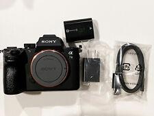 Sony Alpha A7III Body Mirrorless Digital Camera Black