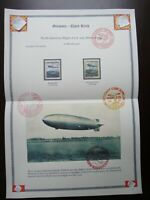 Germany Nazi 1936 AIR POST Stamp Hindenburg Third Reich Airmail WWII German Deut
