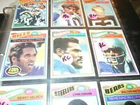 1977 Topps Football  NFL Complete Set 1- 528  EX  to NrMT  Lot card Collection