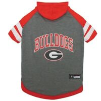 Georgia Bulldogs NCAA Pets First Officially Licensed Dog Pet Hoodie T Shirt XS-L
