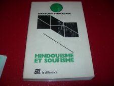 HINDOUISME ET SOUFISME  DARYUSH  SHAYEGAO  1979