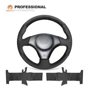 Black Suede Car Steering Wheel Cover for Toyota RAV4 Celica Matrix MR2 Supra