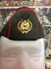 Iraq-Iraqi Military Dress Uniform, General Hat With Golden Pin Badge.