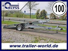 Fahrzeugtransporter PKW Anhänger 350x195x4cm 1500kg GG Autotransportanhänger