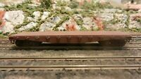 Athearn HO BB  40'  Flat Car, Unlettered, Upgraded,, Exc.