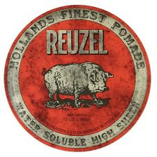 REUZEL RED HOG POMADE WATER SOLUBLE HIGH SHEEN 340g FREE SHIPPING