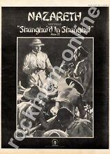 Nazareth Shanghai'd In Shanghai Moon 22 MM4 '45 Advert 1974