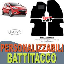 PER OPEL CORSA (E) TAPPETINI AUTO SU MISURA IN MOQUETTE CON BATTITACCO | EASY