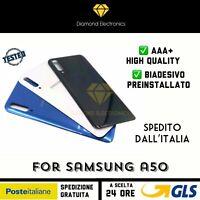 🔝 Vetro Posteriore Scocca Back Battery Cover Copri Batteria Samsung Galaxy A50