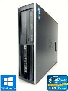 HP Elite 8100 SFF - 500GB HDD, Intel Core i5-670, 8GB RAM - Win 10 Pro