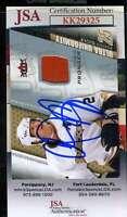 Chris Pronger JSA Coa Hand Signed 2009 Fleer Game Jersey Autograph