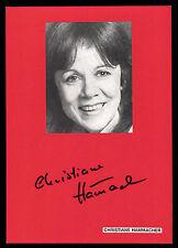 Christiane Hammacher originale firmato # BC G 12601