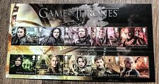 Game of Thrones Royal Mail Stamp Stamp Souvenir First Day Collector Us Seller