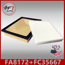 FA8172 FC35667 PREMIUM ENGINE & CABIN AIR FILTER for 2014-17 TUNDRA 4.6L & 5.7L