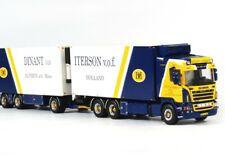 Dinant van Iterson Scania R5 Highline 6x2 Double Reefer Truck WSI 1:50 01-1241