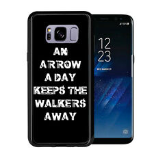 An Arrow Aday Keeps The Walkers Away For Samsung Galaxy S8 2017 Case Cover by At