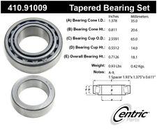 Wheel Bearing and Race Set-Premium Bearings Centric 410.91009