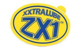 XXTRALUBE ZX1 OIL STICKER 1980S MINI COOPER S FORD ESCORT RS2000 MEXICAO CORTINA