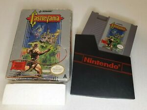 Castlevania (Nintendo NES) PAL In Original Box