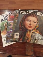 Vintage 4 Walter Foster Art Instruction Books Painting Oil Acrylic Color Mixing