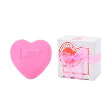 Handmade love heart-shaped design bath soap wedding love gift decontamination NT