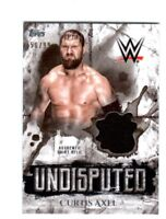 WWE Curtis Axel 2018 Topps Undisputed Authentic Shirt Relic Card SN 50 of 99