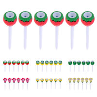 6 Pieces Durable Plastic & Rubber Golf Tees 80mm Cute Fruit Tees
