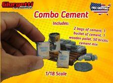 Super Combo Cement 1/18 Scale Diorama (Handmade Accessory - Accessories)