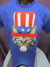 Mens Licensed Uncle Sam Cat Shirt NWT L