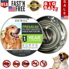 New listing Dewel Cheaper than Seresto! Flea Tick Control Collar Large Dog 1 Year Protection