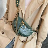 Fashion Synthetic Leather Cross Body Bags For Women Chain Small Shoulder Travel