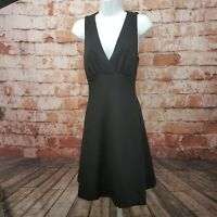 ModCloth Little Black Dress Size M A-line V- neck