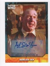 2017 Doctor Who Signature Series autograph Adrian Scarborough blue