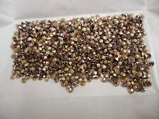 350 swarovski rhinestones,32pp special amethyst champagne/foiled #1028